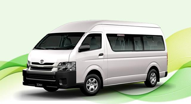 Rental Mobil Hiace Jawa Tengah murah