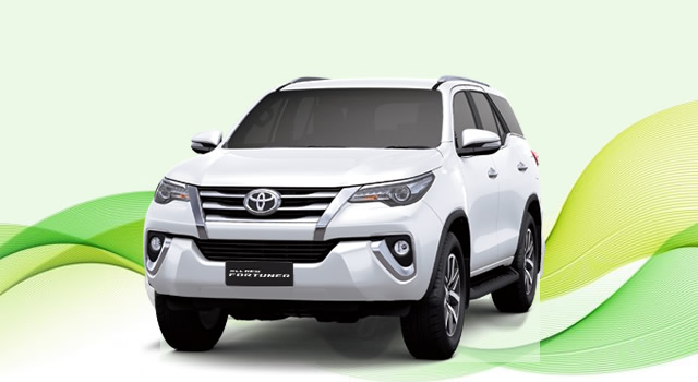 Rental Mobil Fortuner VRZ Kota Tegal murah
